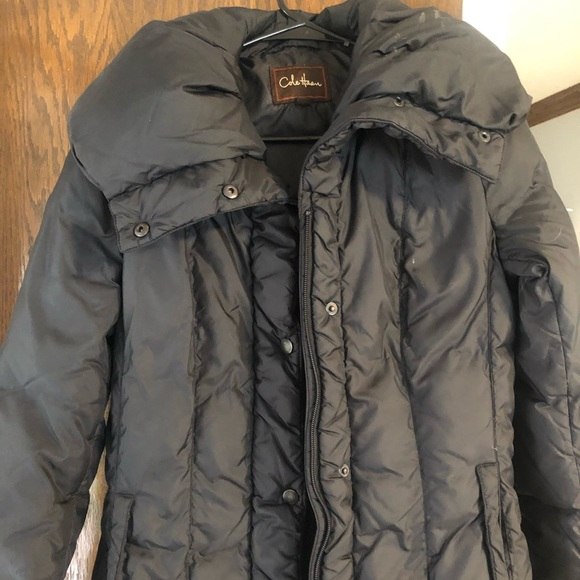 Cole Haan full length coat